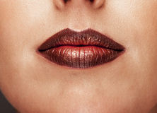 Stunning lips Royalty Free Stock Photo