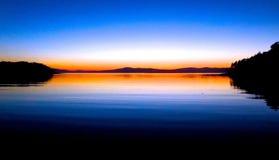 Stunning Main Sunset. Stunning sunset in Maine USA Photo by Rob Nagy 2014 stock images