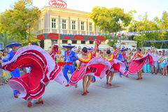 Stunning Mexican dance Stock Photos