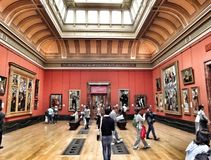 Stunning at the museum. Take a walk for sightseeing Royalty Free Stock Photography