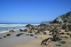 Stunning North Cornwall coastline England. Royalty Free Stock Image
