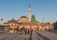 The stunning Old Town of Konya, Turkey stock photo