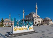 The stunning Old Town of Konya, Turkey stock photography