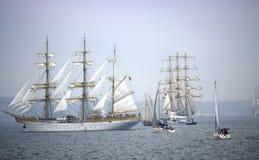 Stunning sails parade Stock Photography