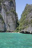Stunning Phi Phi island Stock Images