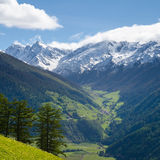 Stunning Planeil valley Royalty Free Stock Photography