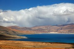 Stunning plateau lake Stock Photography