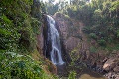 Stunning scenery of Haew Narok Waterfall,Khao Yai National Park,Nakhon Ratchasima province,Thailand. Khao Yai National Park is Thailand`s first national park and Stock Image