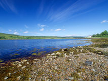 Stunning sea views in the Isle of Skye Stock Images
