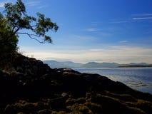 Stunning sea views in the Isle of Skye Royalty Free Stock Image