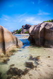 Stunning Seychelles Beach Stock Images