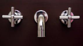 Free Stunning, Shiny Brand New Taps In Bathroom Stock Photo - 1066420