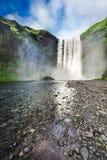 Stunning Skogafoss waterfall, Iceland Royalty Free Stock Image