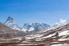Stunning Snow Mountain Stock Photos
