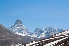 Stunning Snow Mountain Royalty Free Stock Photo