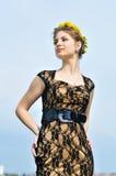 Stunning spring girl Stock Image
