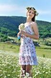 Stunning spring lady Royalty Free Stock Photos