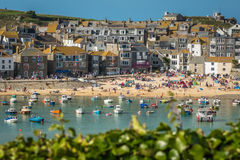 Stunning St Ives beach Stock Image