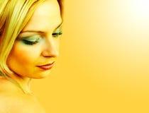Stunning sunny lady. Stock Image