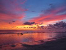 Free Stunning Sunset At St. Petersburg Beach, Florida Stock Photography - 129922772