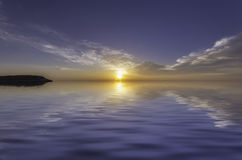 Stunning sunset Royalty Free Stock Images