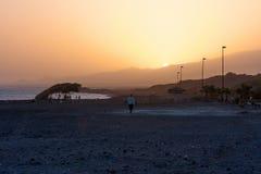Stunning sunset evening, Cape Verde Stock Image