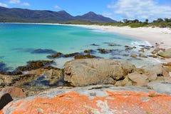 Stunning Tasmanian Coast, Tasmania Australia Stock Image