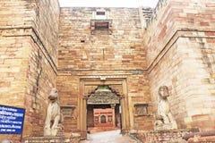 The stunning 8th-century Gwalior fort Madhya Pradesh  India Royalty Free Stock Photos