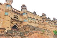 The stunning 8th-century Gwalior fort Madhya Pradesh  India Stock Photography