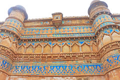 The stunning 8th-century Gwalior fort Madhya Pradesh  India Royalty Free Stock Photos