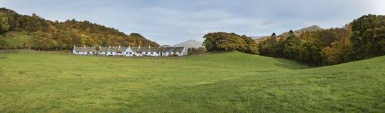 Stunning tourism landscape image of Lake District during Autumn Stock Image