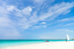Stunning tropical beach Royalty Free Stock Photography