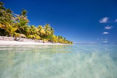 Stunning tropical beach Royalty Free Stock Photos
