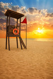 Stunning tropical beach at sunrise Stock Photo