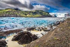 Stunning Vatnajokull glacier and mountains, Iceland Royalty Free Stock Photography