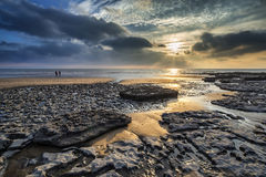 Free Stunning Vibrant Sunset Landscape Over Dunraven Bay In Wales Royalty Free Stock Photography - 61976757