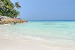 Stunning view of Andaman Sea, Thailand Royalty Free Stock Image