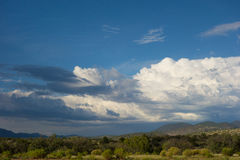 A stunning view from a high altitude in colorado Royalty Free Stock Image