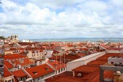 Stunning view on Lisbon city, Portugal Stock Photo