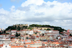 Stunning view on Lisbon city, Portugal Royalty Free Stock Photography