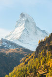 Stunning View Of Matterhorn In Swiss Alps Royalty Free Stock Photo