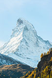 Stunning View Of Matterhorn In Swiss Alps Royalty Free Stock Photography