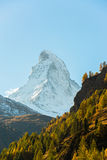Stunning View Of Matterhorn In Swiss Alps Royalty Free Stock Image