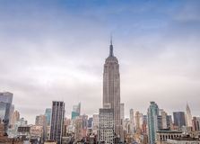 Stunning view of Midtown Manhattan skyline - New York City Royalty Free Stock Images