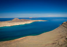 Stunning view from Mirador del Rio Stock Image