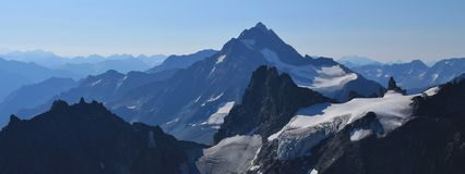 Stunning view from mount Titlis Stock Images