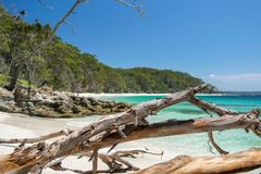 Stunning view of Murrays Beach, located within Booderee National Park in Jervis Bay Territory