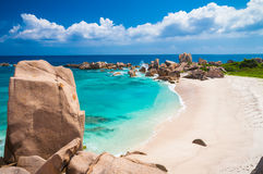 Stunning View Over Anse Marron Royalty Free Stock Images