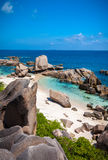 Stunning View Over Anse Marron Stock Photography