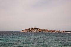 Stunning view on Primosten island Stock Photo